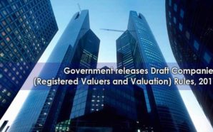 Draft Companies (Registered Valuers and Valuation) Rules, 2017